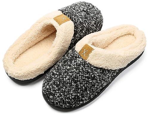 Inverno Pantofole da casa per Uomo Donna Memoria Schiuma Ciabatte Scarpe in  Caldo Peluche Cotone - 735514947b3