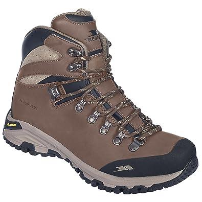 55f881ae469 Trespass Womens/Ladies Genuine Waterproof Leather Walking Boots