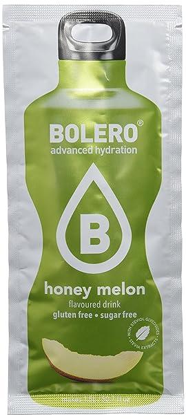 Bolero Bebida Instantánea sin Azúcar, Sabor Melón - Paquete de 24 x 9 gr - Total: 216 gr: Amazon.es: Salud y cuidado personal