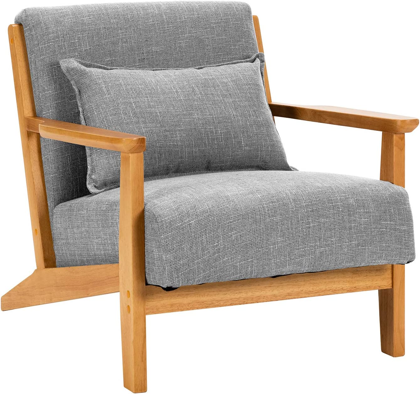 Best Eco-Friendly Lounge Chair: Unicoo Modern Accent Chair