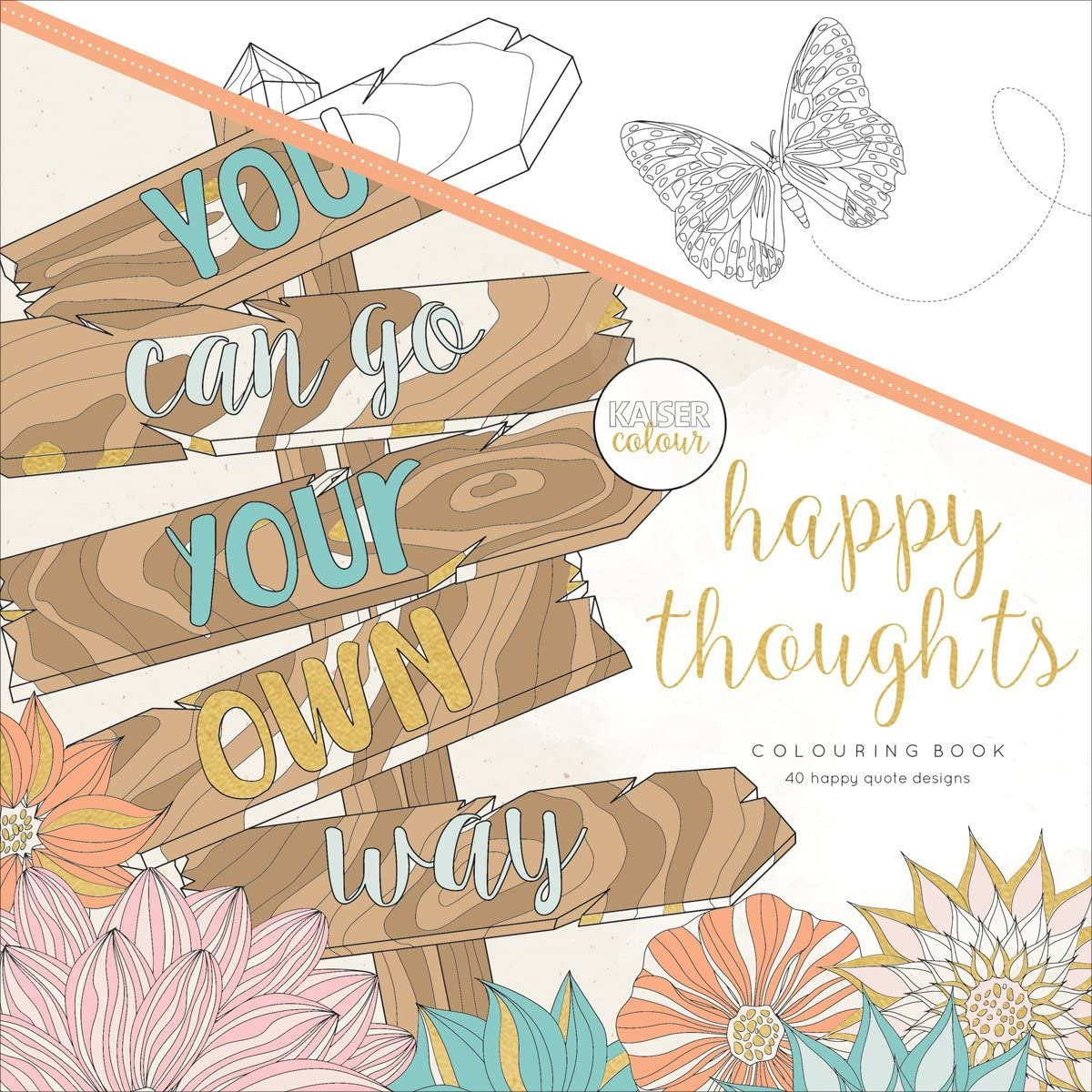 1925405621 Kaisercraft Happy Thoughts Coloring Book 81PHL6nIW8L
