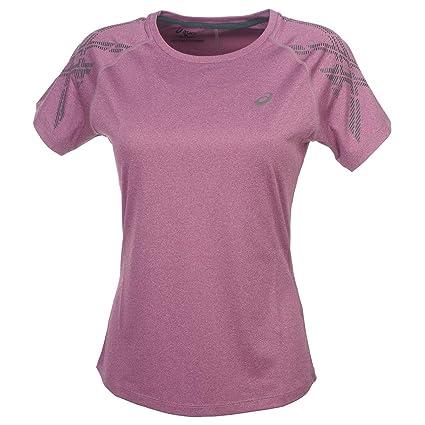 ASICS Stripe SS Top T Shirt Manches Courtes Femme