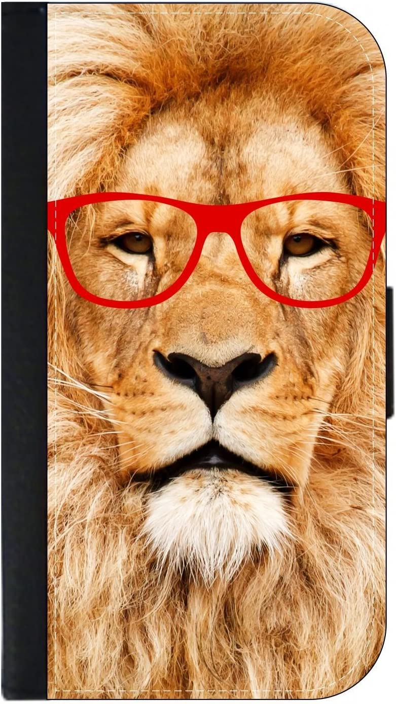 Passport Protector Case Cover//Card Holder for Travel Hipster Lion