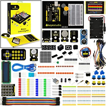 Amazon.com: keyestudio 1602lcd Maker Kit para Arduino ...