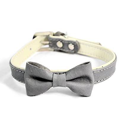 81PHP9dXsUL._SX425_ amazon com martha stewart leather bow tie buckle collar for dogs