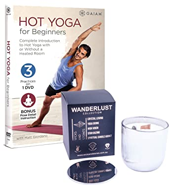 Amazon.com: Stretch and Calm Hot Yoga for Beginners DVD with ...