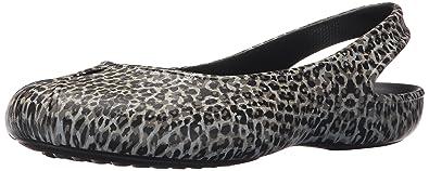 91a891878615 Crocs Olivia II Leopard Print Flat W Lprd Women s Ballet Flats - Multicolor  (Multicolor)