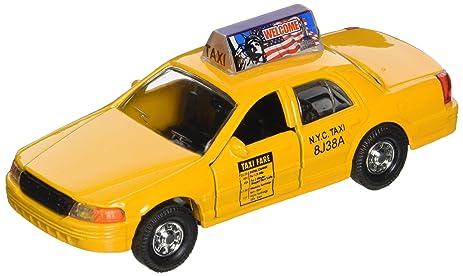 New York City Modern Yellow Nyc Medallion Taxi Cab 1