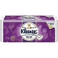 Kleenex Ultra Soft Bath Tissue, 200ct ,(Pack of 20)