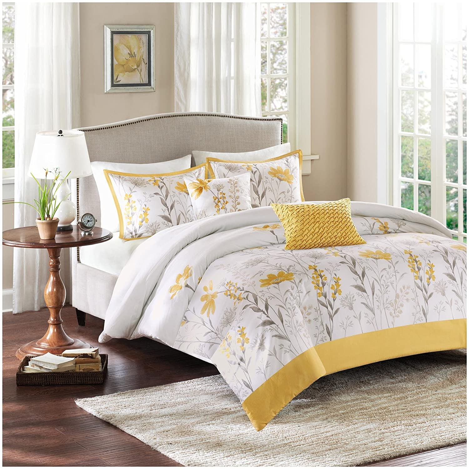 Harbor House Meadow Duvet Mini Set, Full/Queen, Multicolor
