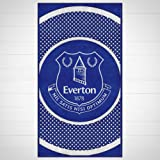 Everton FC Official Football Gift Towel - A Great Christmas / Birthday Gift Idea For Men And Boys