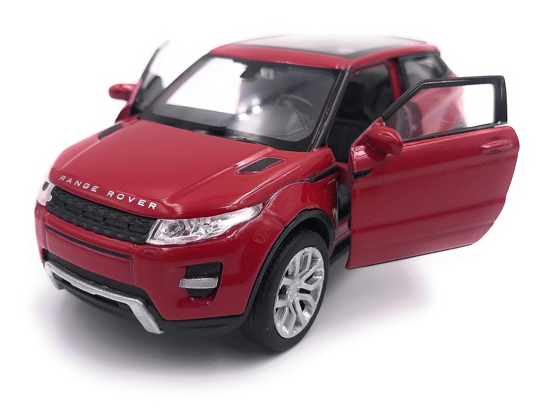 39 Red Welly Producto de Licencia de Auto Modelo Range Rover Evoque Model 1 34-1