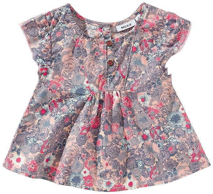 Mexx - Blusa con cuello redondo de manga corta para niña, talla L / 68