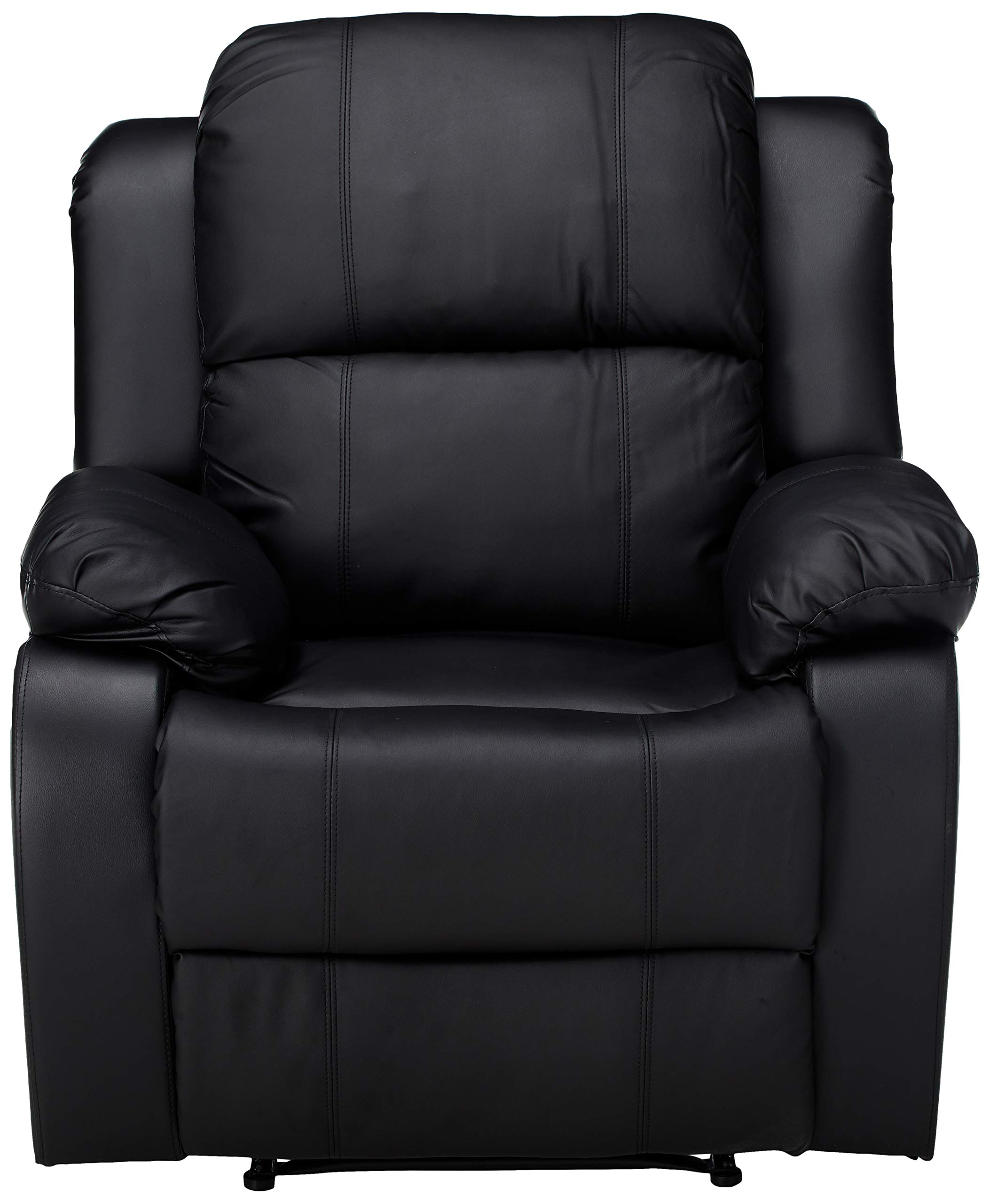 Merax Suede Heated Massage Recliner Sofa Chair Ergonomic Lounge With