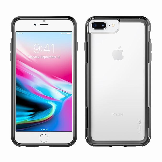 best service c39b8 e1893 iPhone 8 Plus Case | Pelican Adventurer Case - fits iPhone 6/6s/7/8 Plus  (Clear/Black)
