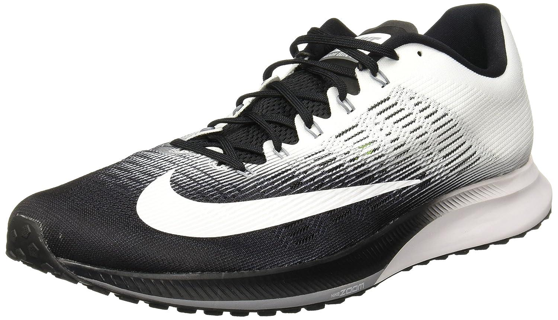 NIKE Men's Air Zoom Elite 9 Running Shoe 12.5 M US|Black/White