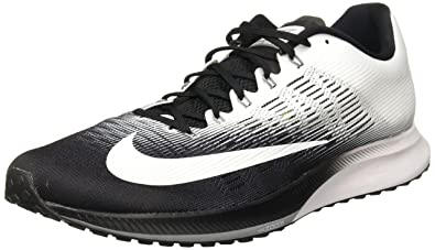 7c709e34566 ... NIKE Men s Air Zoom Elite 9 Running Shoe Black White Size 7.5 .