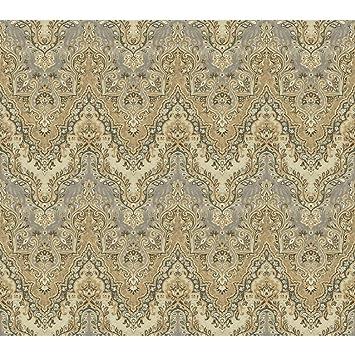 York Revetements Gc8767 Global Chic Palais Safari Papier Peint