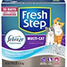 Fresh Step Multi-Cat with Febreze, Odor Shield, 14 lbs