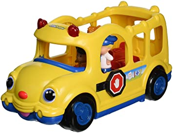 Fisher-Price Little People Lil\' Movers Baby School Bus: Amazon.co.uk ...