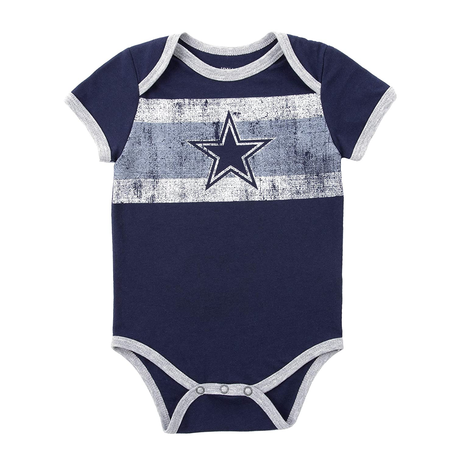 Amazon Com Dallas Cowboys Infant Gizmo Bodysuit Sports Outdoors