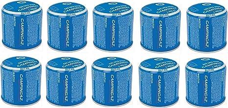 Bombona de cartucho de cartuchos de gas de 190 g – C206 GLS Campingaz C206GLS – con sistema de seguridad de membrana – Oferta para 10 bombonas