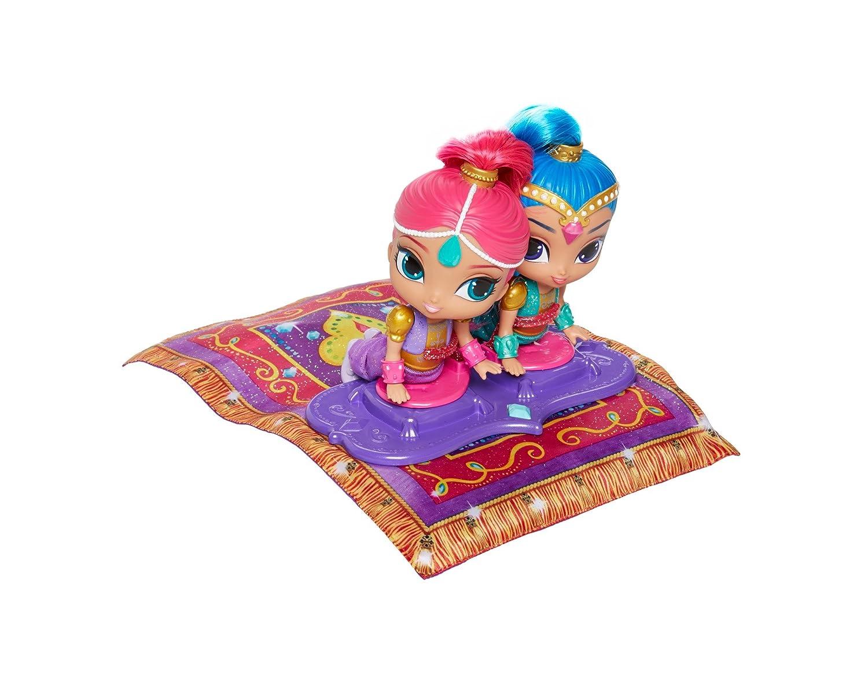 Shimmer And Shine Shimmer & Shine Alfombra mágica voladora, 44 x 33 cm (Mattel Spain FHN22): Amazon.es: Juguetes y juegos