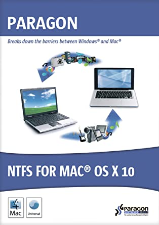 Paragon NTFS for Mac OS X 10 [Download]