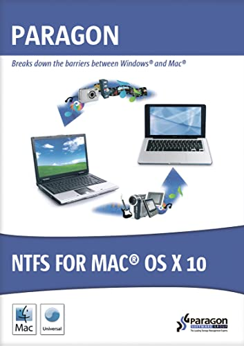 Paragon NTFS for Mac OS X 10 [Download]