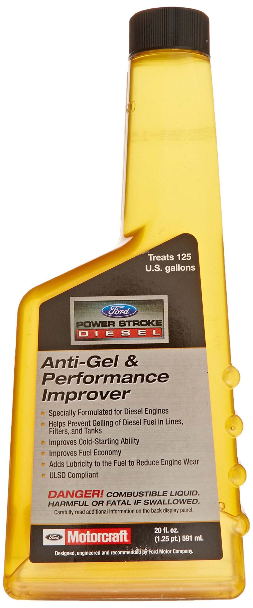 Genuine Ford Fluid PM-23-A ULSD Compliant Anti-Gel and Performance Improver - 20 oz.