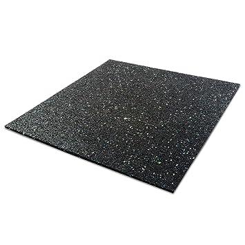 tapis anti vibration etm 60x60cm caoutchouc isonoriant isolant idal machine laver - Dalle Anti Bruit