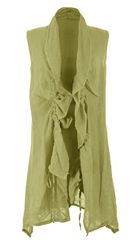 TEXTUREONLINE - Camisas - para mujer verde lime green Talla única