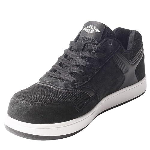 Amazon.com: Zapatillas deportivas de seguridad con puntera ...