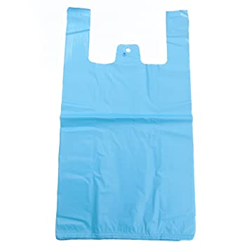 100 bolsas de plástico pequeñas, de 18 micras y color blanco ...