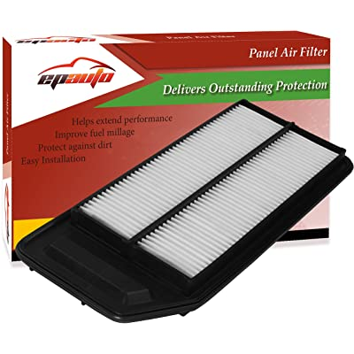 EPAuto GP564 (CA9564) Replacement for Honda/Acura Extra Guard Rigid Panel Engine Air Filter for Accord L4 (2003-2007), TSX (2004-2008): Automotive