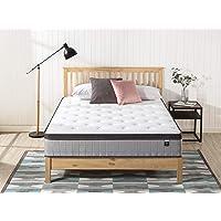 Zinus Support Plus iCoil Pocket Springs Queen Mattress Eurotop Bed - High Density Foam Layer - Mattress in a Box - Medium Firm Feel 30cm