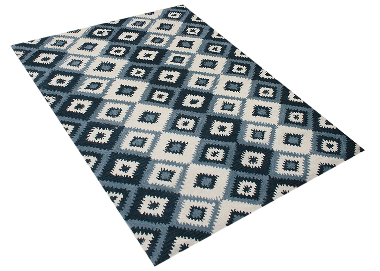 Git Mit Home 40044-30-GMH Area Rugs Orion Blue Blend Runner