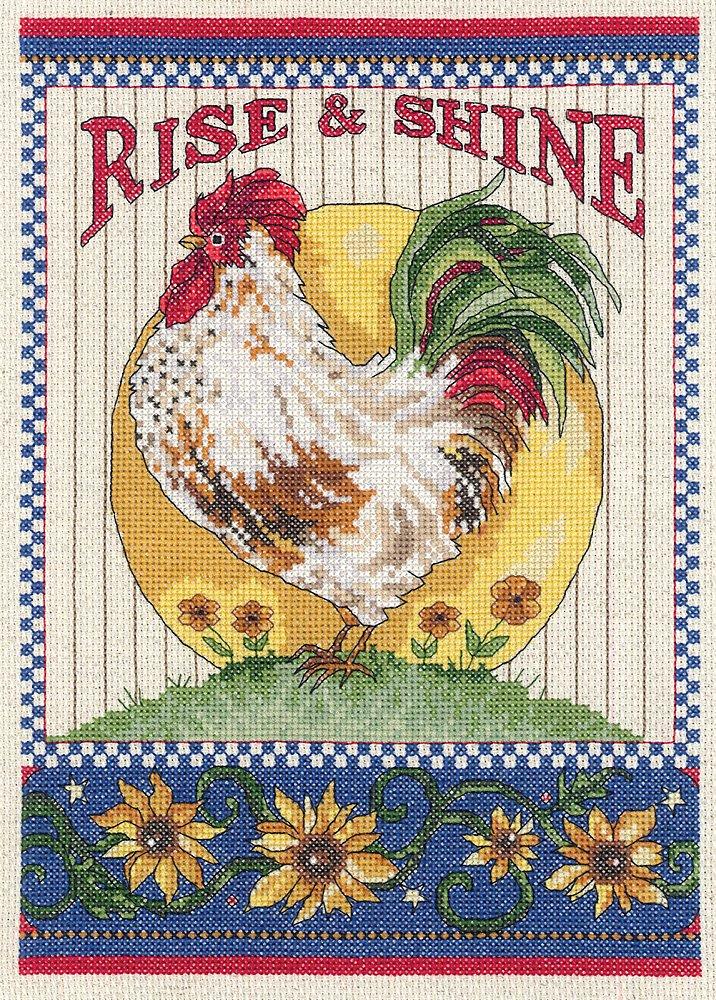 JanlynnRise /& Shine Counted Cross Stitch Kit