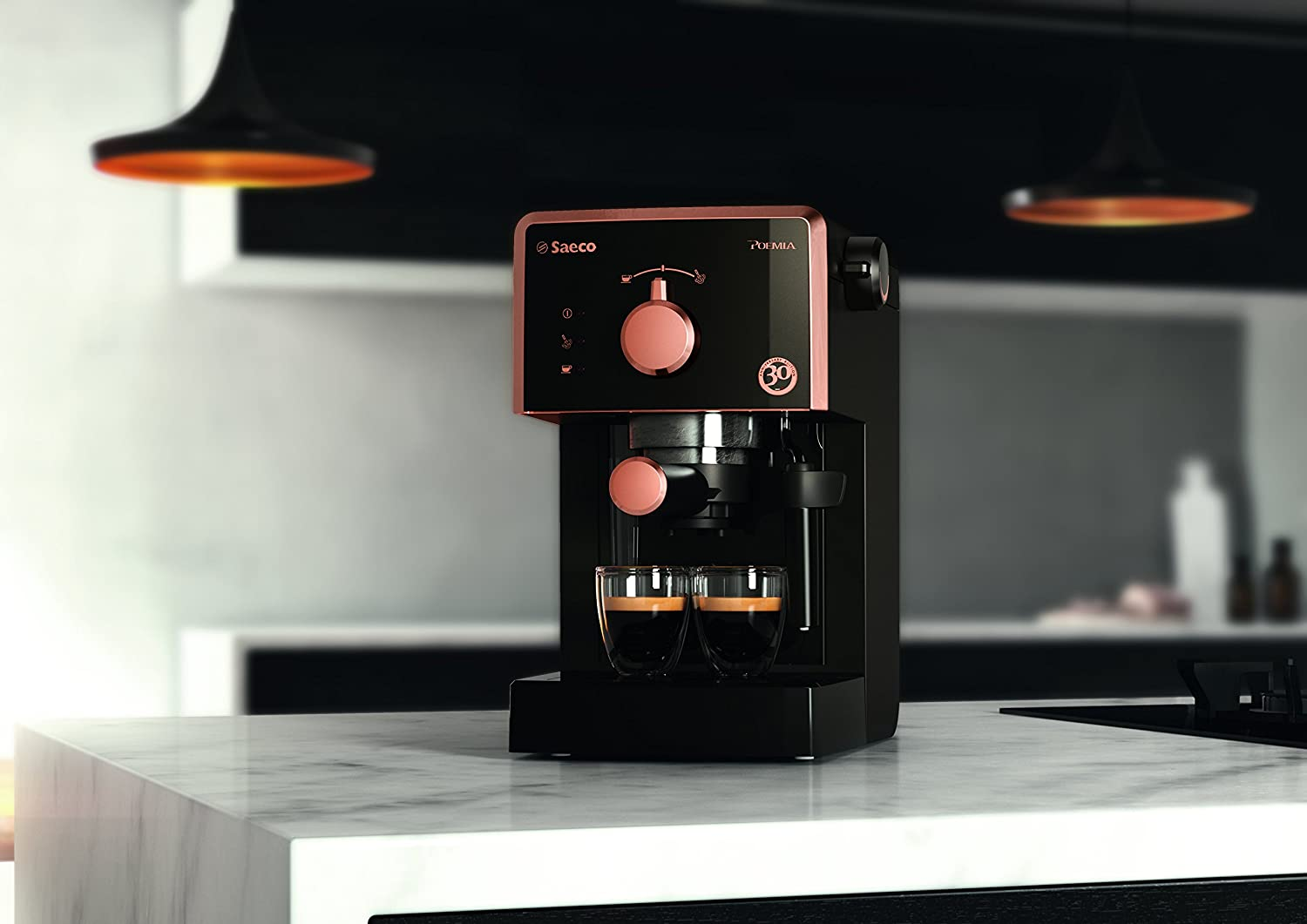 Saeco Poemia Focus HD8425/21 - Máquina de café espresso manual ...