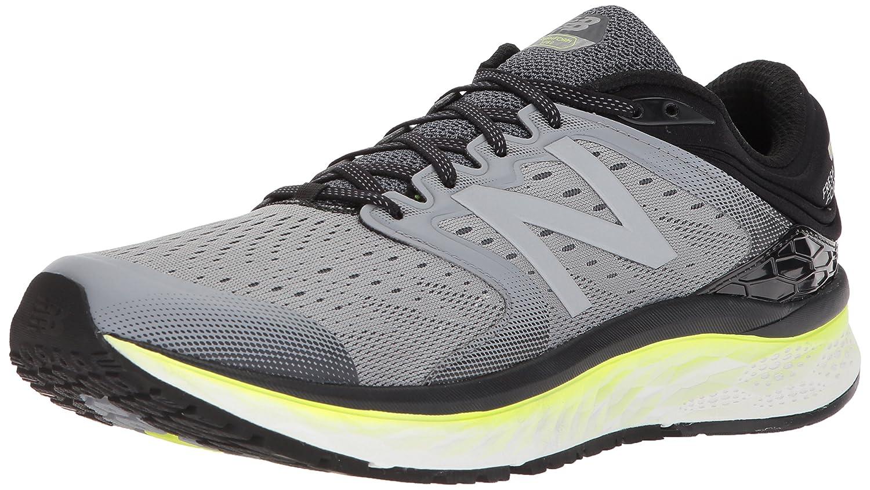 New Balance Men's 1080v8 Fresh Foam Running Shoe B06XSBXPWF 11 D(M) US|Grey/Yellow