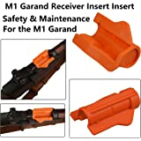GRG M1 Garand Receiver Insert, Safety and Maintenance for the M1 Garand, Bright Orange