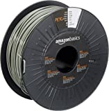 AmazonBasics PETG 3D Printer Filament, 2.85mm, Gray, 1 kg Spool