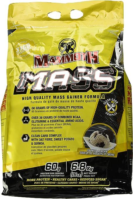 Interactive Nutrition Mammoth Mass Cookies & Cream - 6800 gr