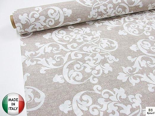 Tela de tela de algodón al metro tela decorativa gran foulard sofá ...