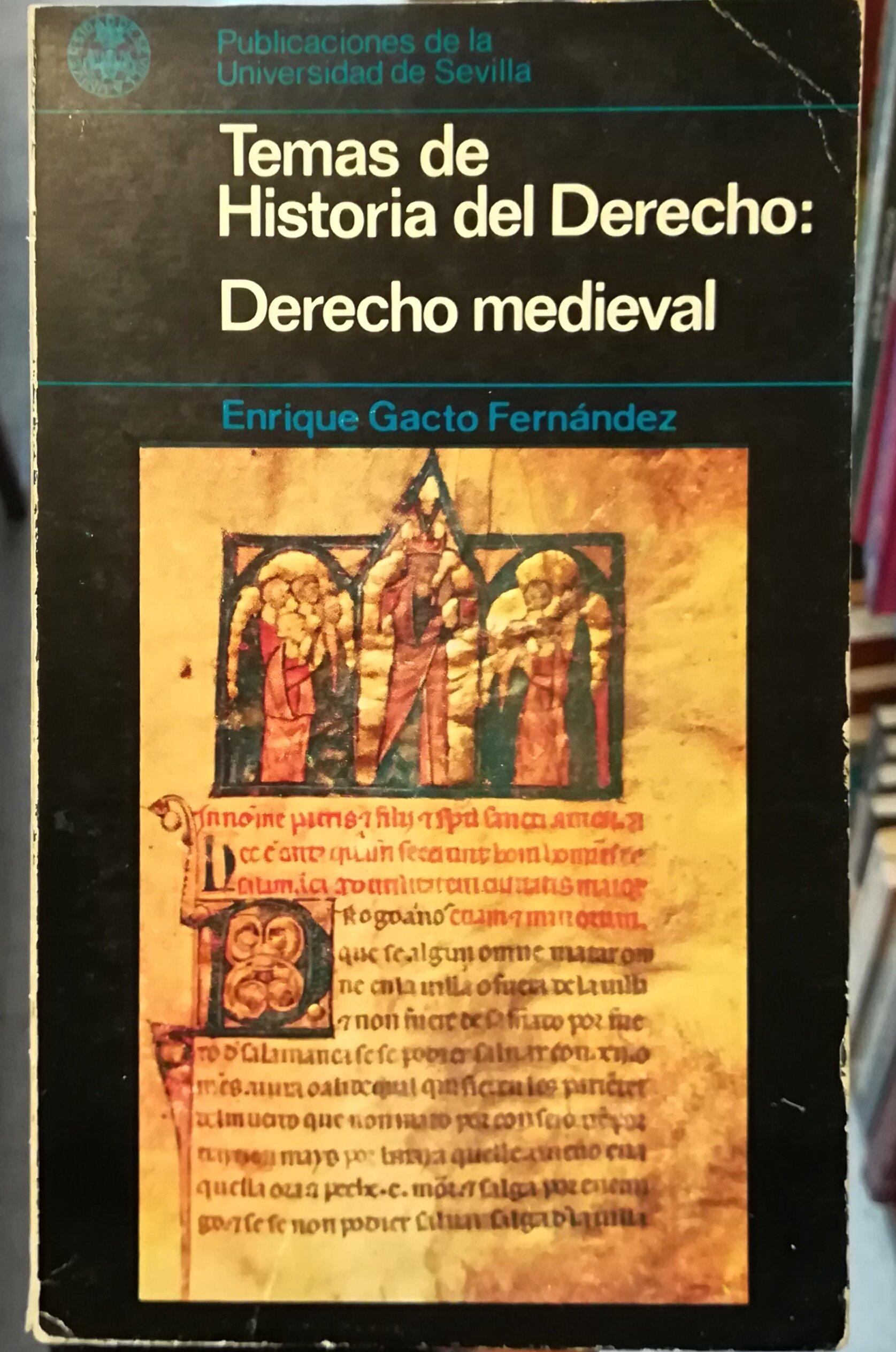 Derecho medieval (Temas de historia del derecho): Amazon.es: Enrique Gacto Fernández: Libros en idiomas extranjeros
