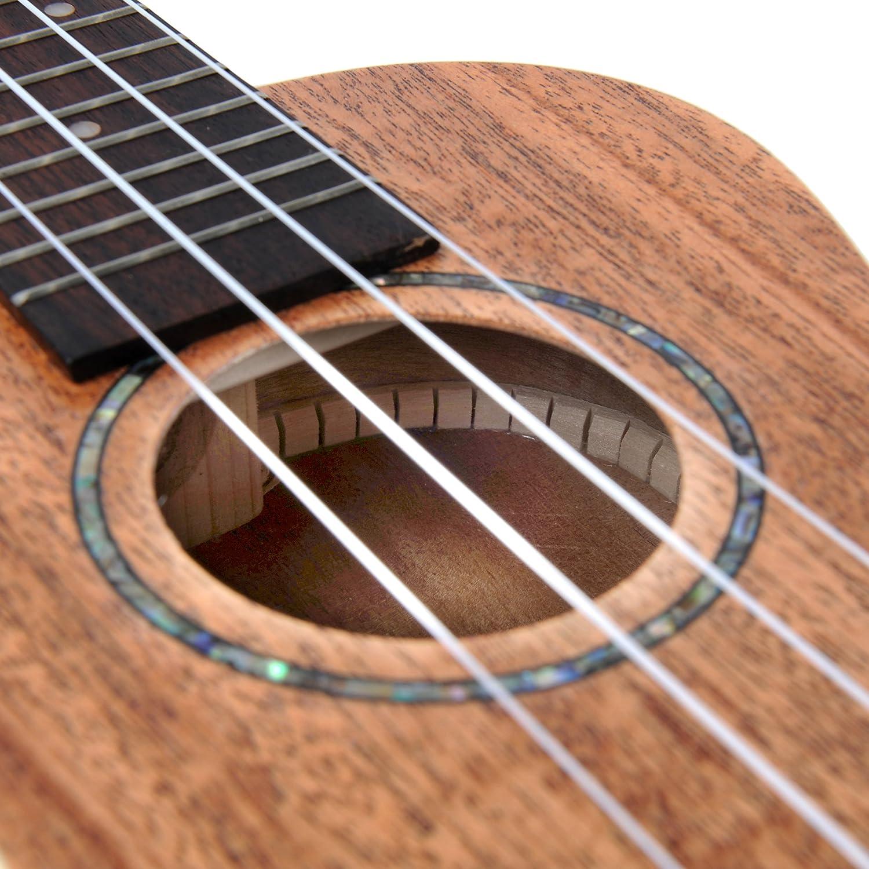 adm mahogany concert 23 inch professional ukulele