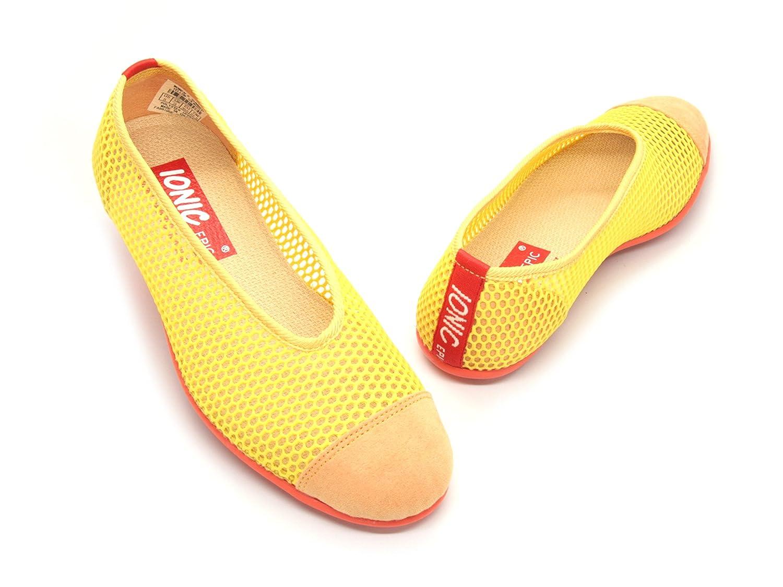 IONIC EPIC simply FABRIC footwear Women's Summer B00IEJ79HQ 5 B(M) US|Yellow