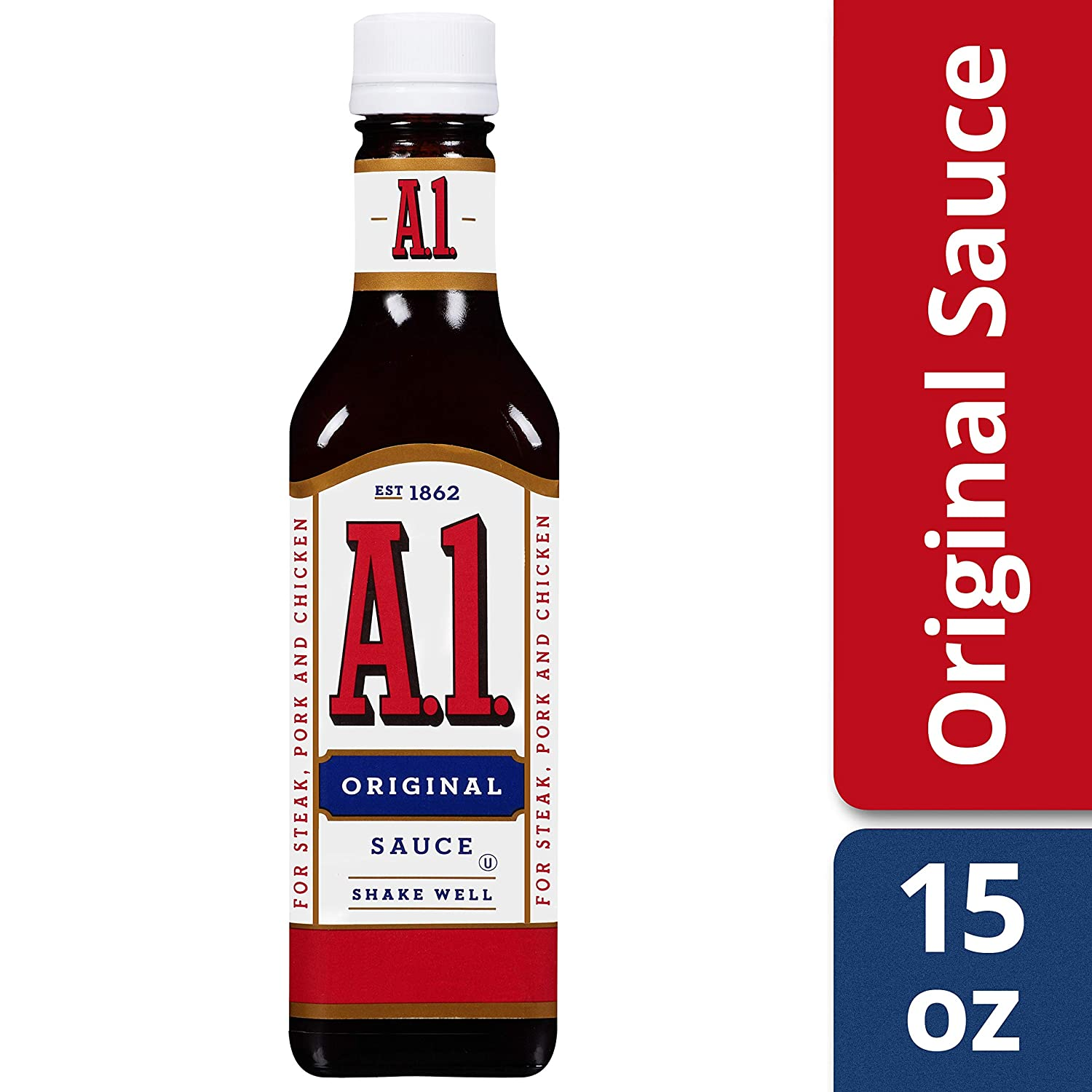Amazon Com A 1 Original Steak Sauce 15 Oz Bottle Grocery Gourmet Food