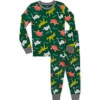 Harry Bear Pijamas de Manga Larga para niños Dinosaurio Ajuste Ceñido