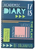 Tallon A5 Week to View Be Organised Academic Mid Year Student Diary 2017-2018